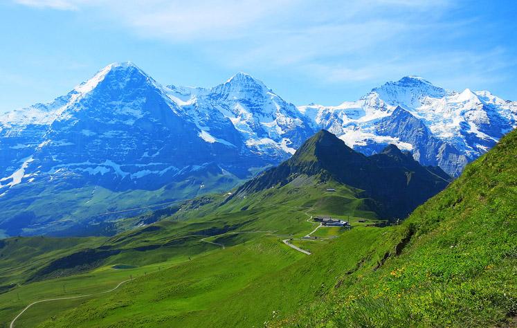 Eiger Mönch Jungfrau