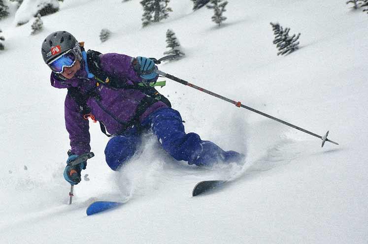 Esquí de la montaña