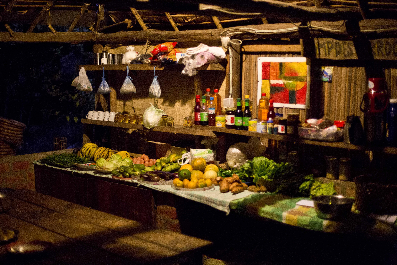 La cocina del campamento