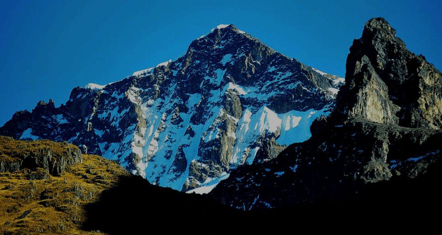 La cara sur del Nevado Sirihuani