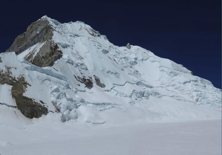El Yerupajá. Foto Diego Cortez