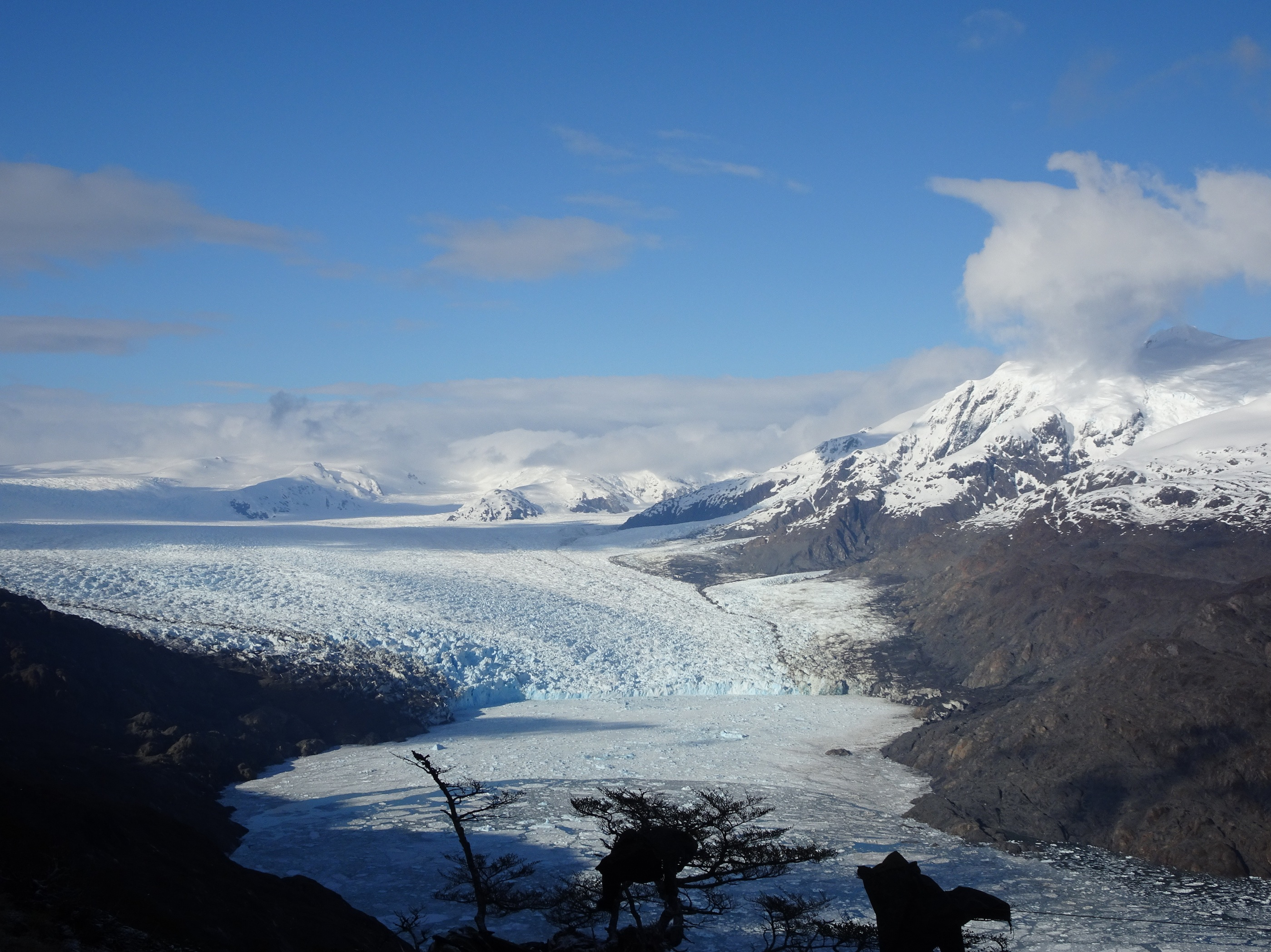 Glaciar Jorge Montt, El Inicio Del Campo De Hielo Sur, Chile . Foto Dario Arancibia